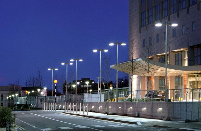 Bega Street Lighting at St. Vincent's Hospital Dublin