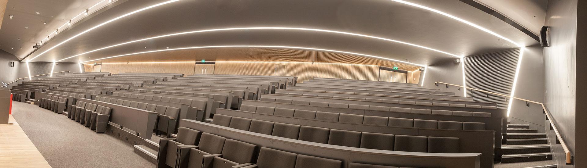RCSI Auditorium-ECI Lighting