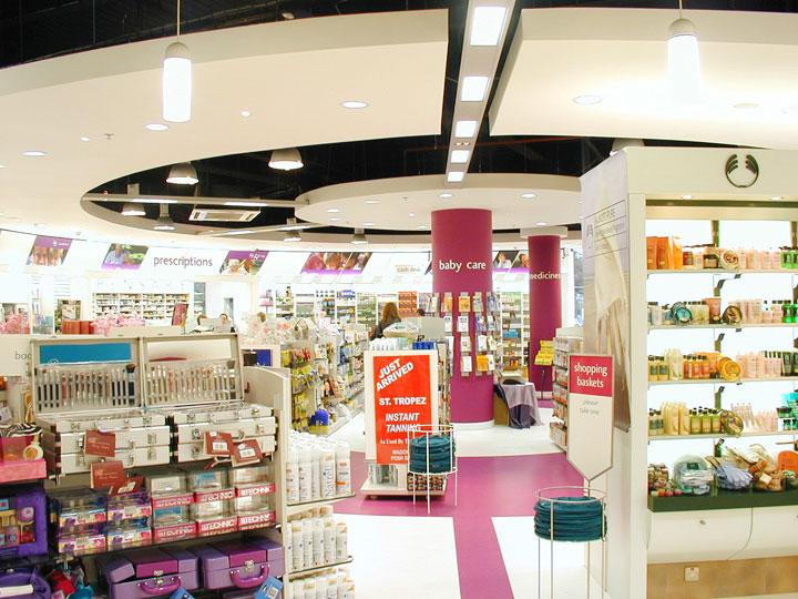 McCabes Pharmacy Lighting Dublin
