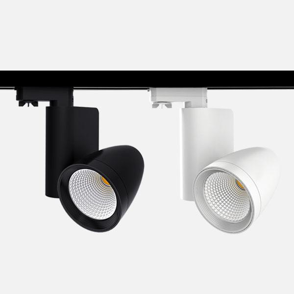 Prelux Nico LED Track Spotlights
