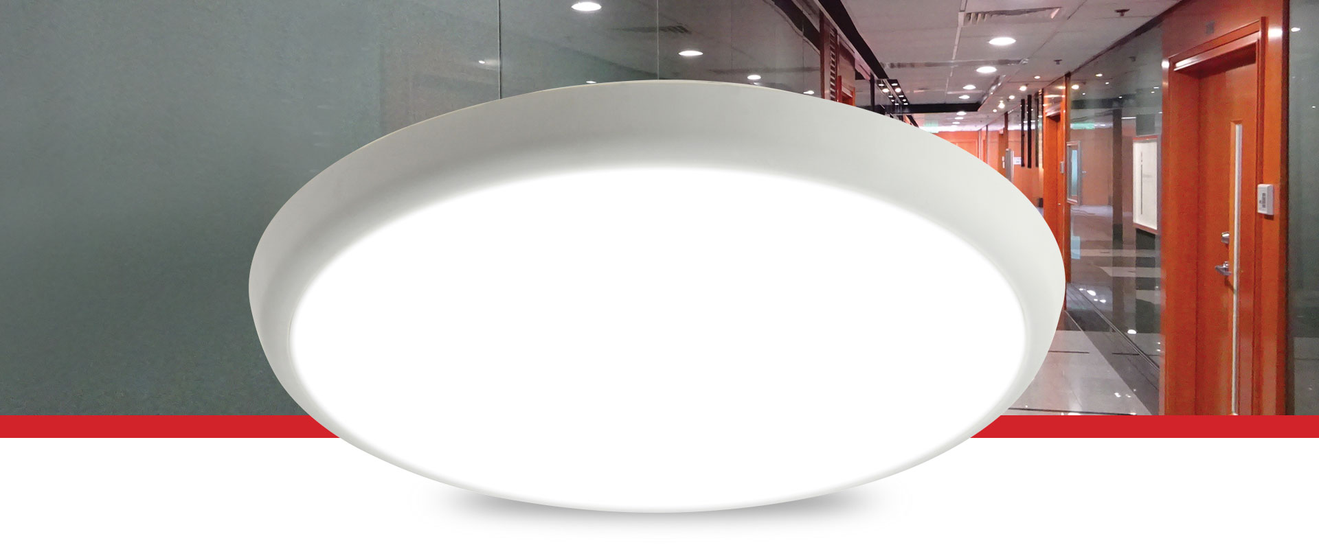 Othello LED Surface - Dimmable MicroWave Emergency Models Available
