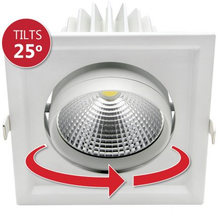 Verona-LED-Downlight-Tilts-25-Degrees