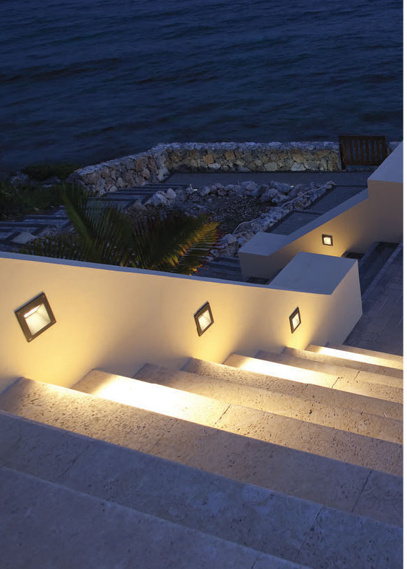 ARES Alfia Recessed Outdoor Wall Lights