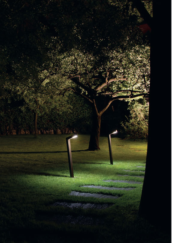 ARES Sandro Outdoor Bollard Light
