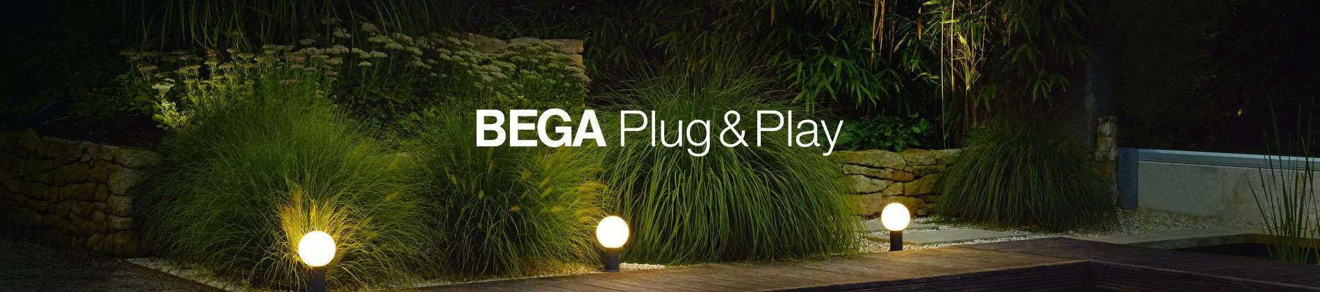Bega Lighting - Plug and Play Control Technology