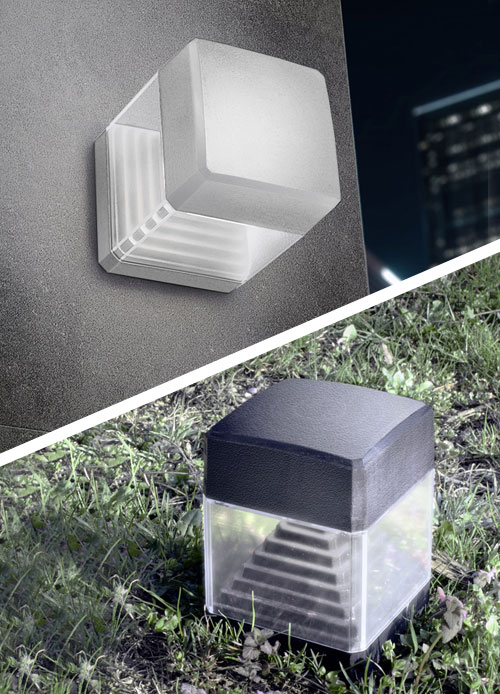 Fumagalli Ester Ground Spike & Wall Light