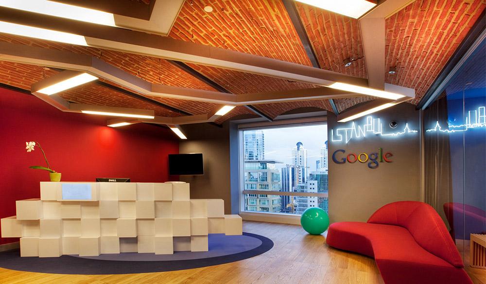 Bespoke Profiles in Google Istanbul Headquarters