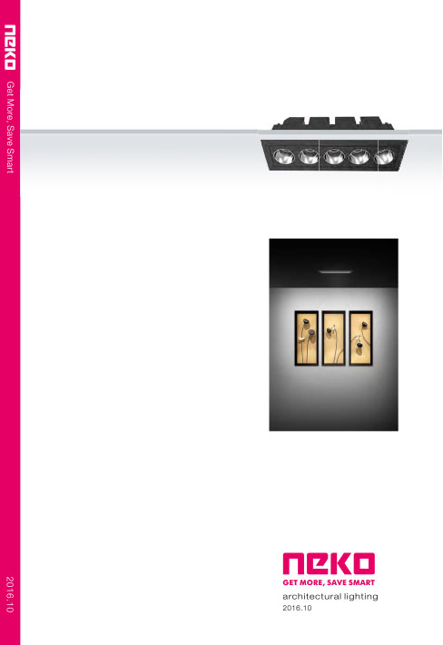 Neko Architectural Lighting Catalogue