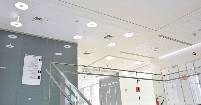 Muser LED Ring in a Healthcare Institution