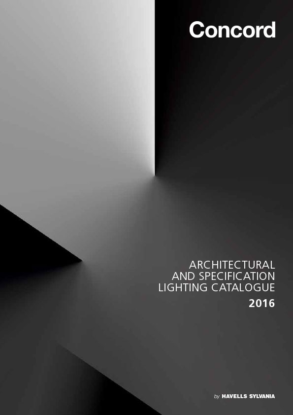 Concord Architectural Lighting Catalogue