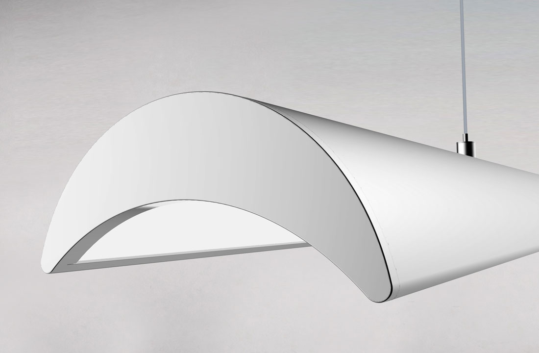 New Moon LED Office Pendant from Prelux LED