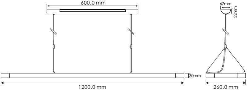 Prelux Maye-R Dimensions