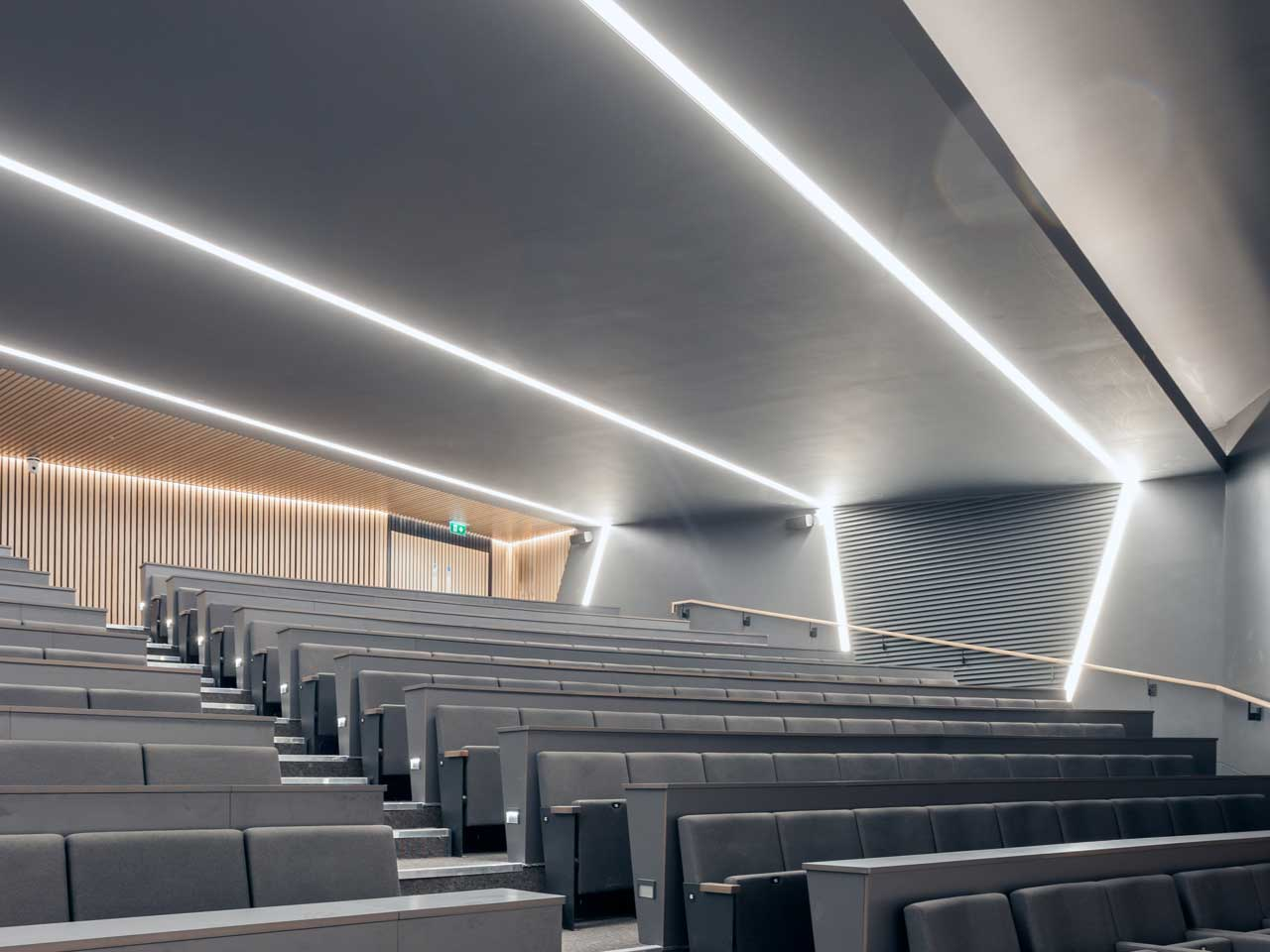 ECI Lighting worked closely on the lighting design with Axis Engineering
