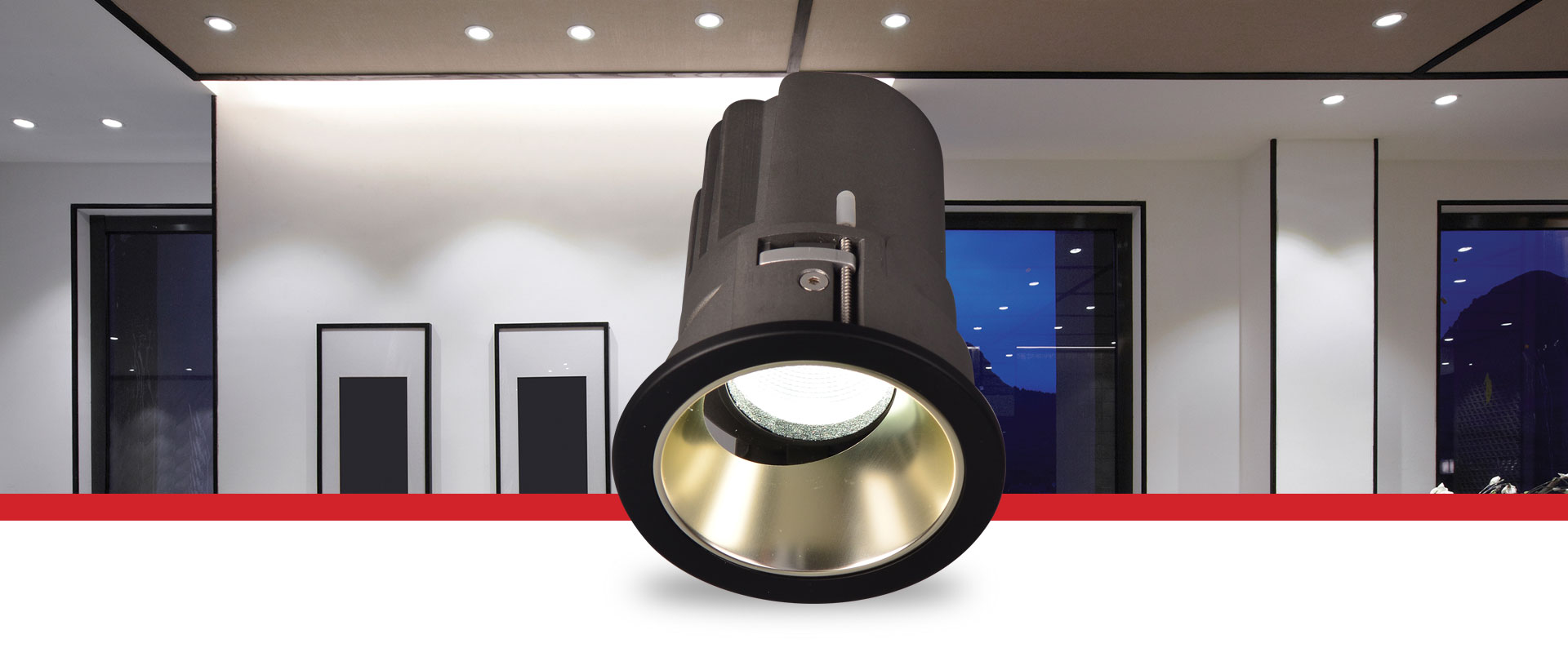 Prelux Bari LED Downlight