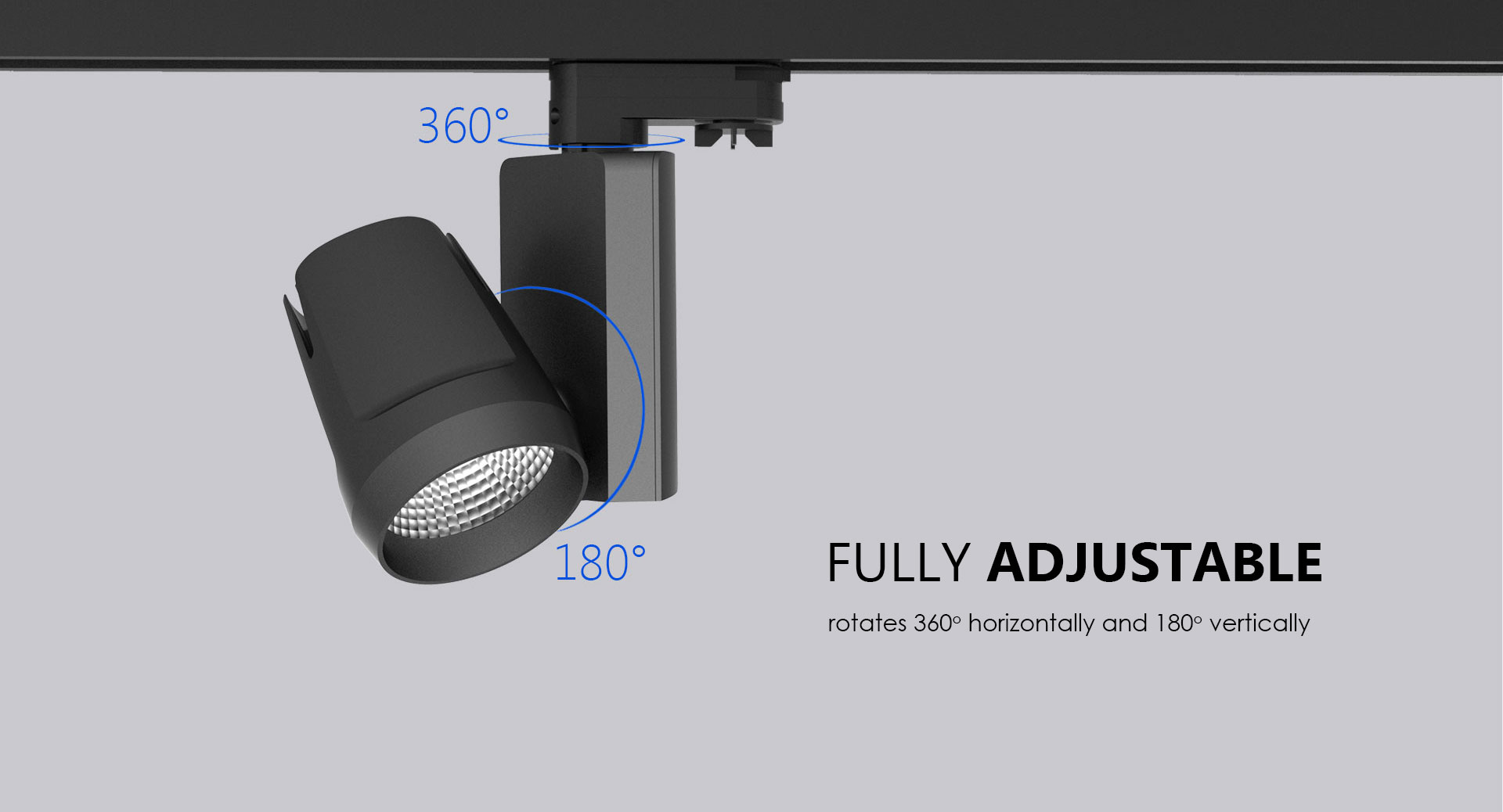 Nico Adjustable 360 degrees Horizontally and 180 Degrees Vertically