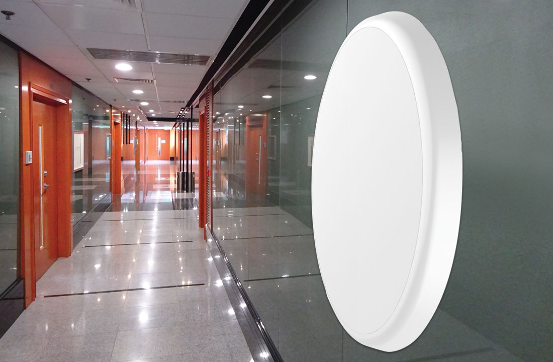 Prelux LED Othello Dimmable and Microwave Surface Models Now Available