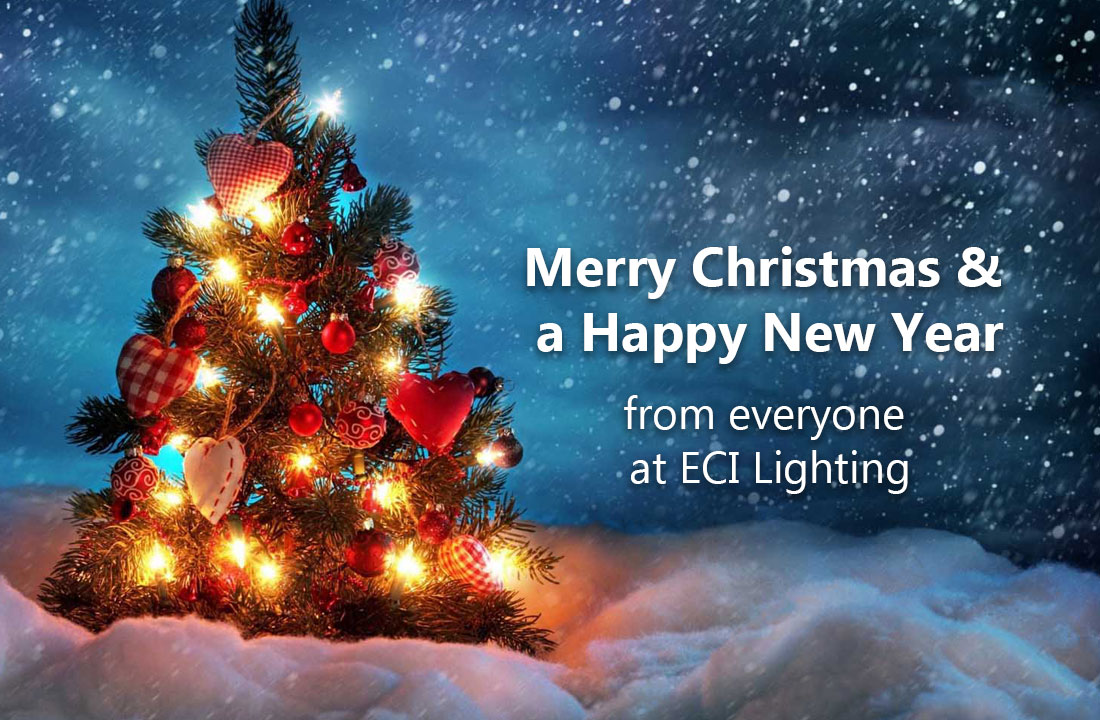 Christmas Opening Hours at ECI Lighting