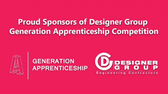 ECI Lighting are Proud to Sponsor Designer Group Generation Apprenticeship