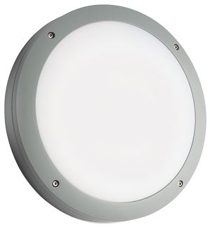 Prelux Venus Standard Grey Round LED