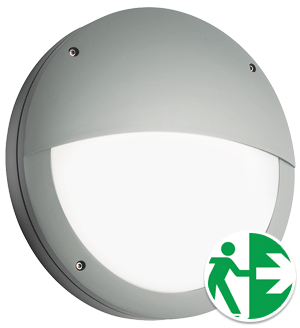 Prelux Venus Eyelid Grey Emergency Round LED