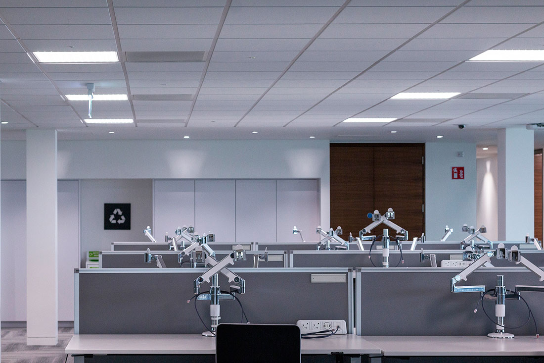 Regent Dimes Office Lighting