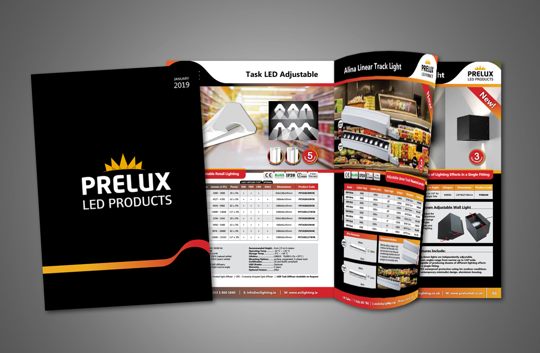 New 2019 Prelux LED Lighting Catalogue
