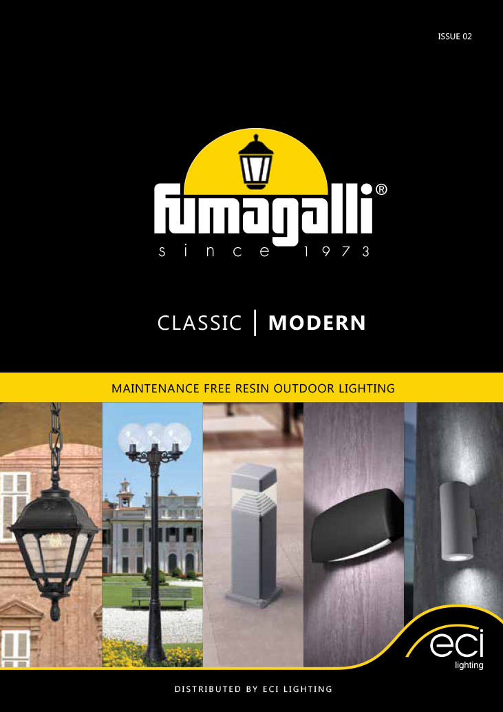Fumagalli 2019 Product Catalogue from ECI Lighting