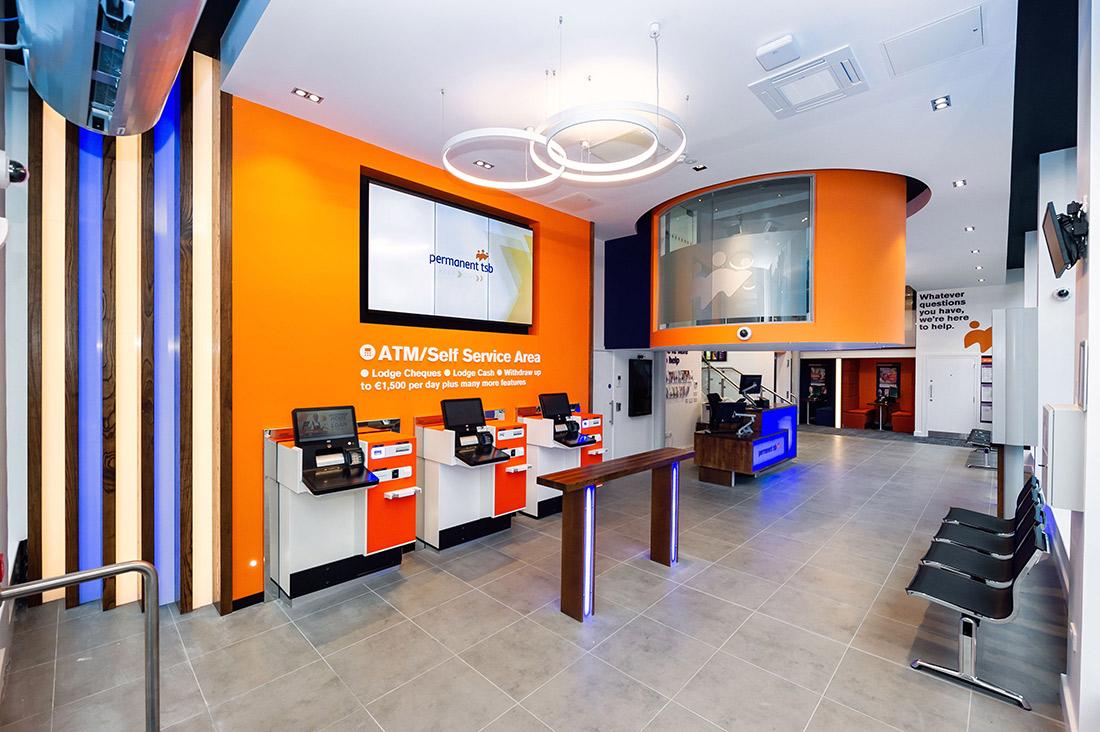 Self Service Area in Permanent TSB Grafton Street