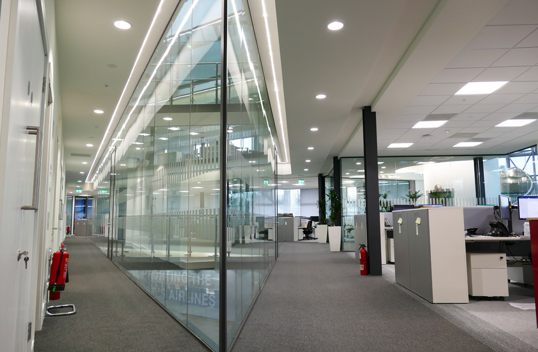 Prelux LED Genoa used for corridors corri