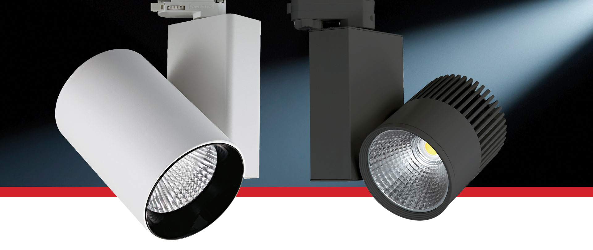 Cosmo LED Track Spot Available in 30W and 50W