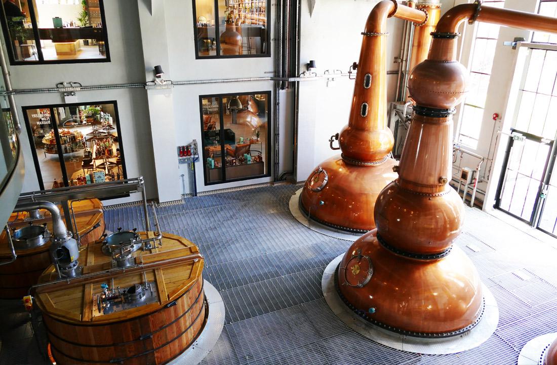 Bega Lighting at Roe & Co Distillery Dublin