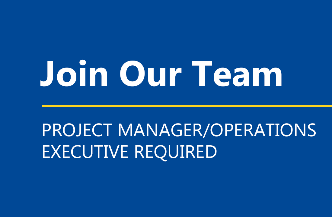 Project Manager Operations Executive Required - ECI Energy