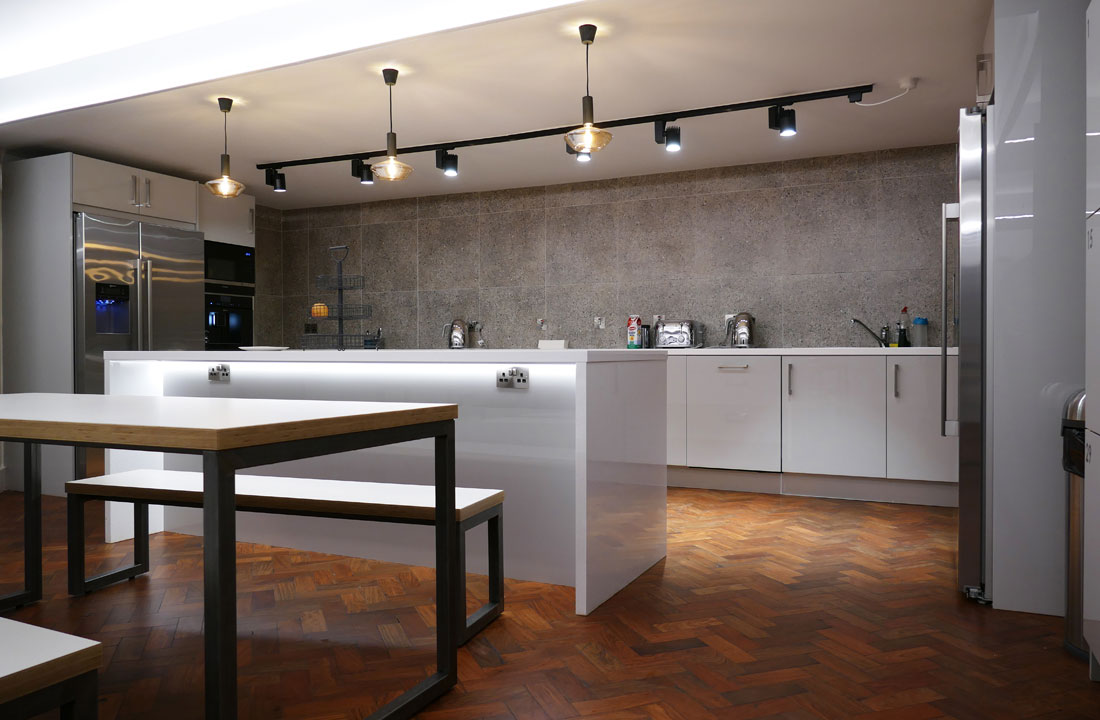 Canteen Lighting Fitout