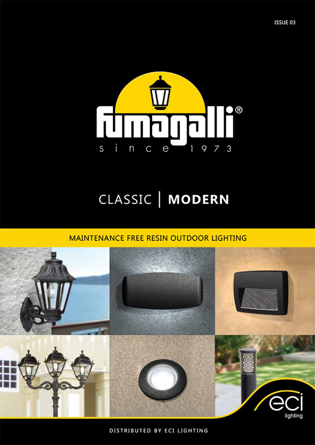 Fumagalli Classic and Modern Outdoor Lighting Catalogue 2020