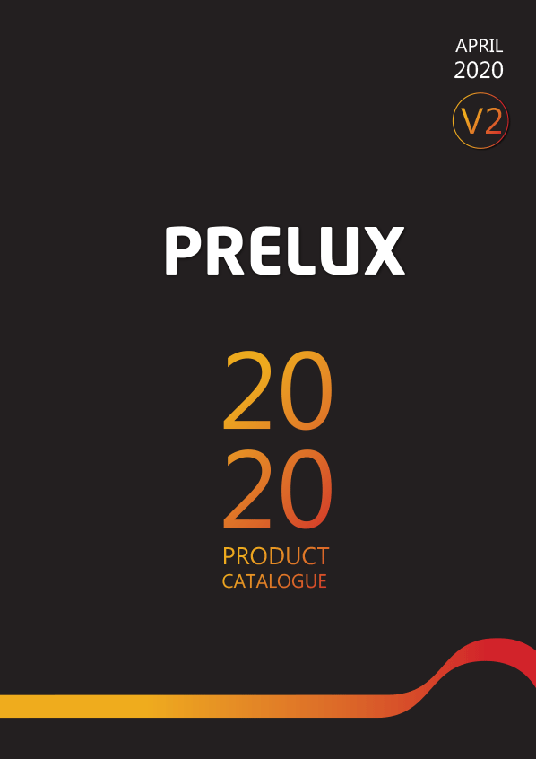 Prelux LED Catalogue Cover March 2020