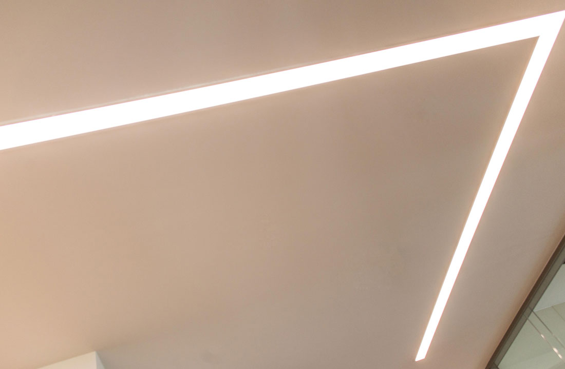 Recessed office lighting