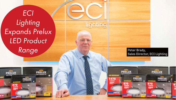 ECI Lighting Magazine Feature in Electric.ie Magazine
