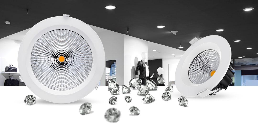 Prelux Genoa LED Downlights