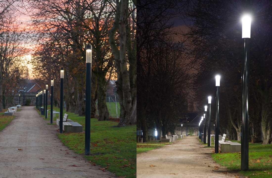 Bega Light Building Elements illuminate the pathways