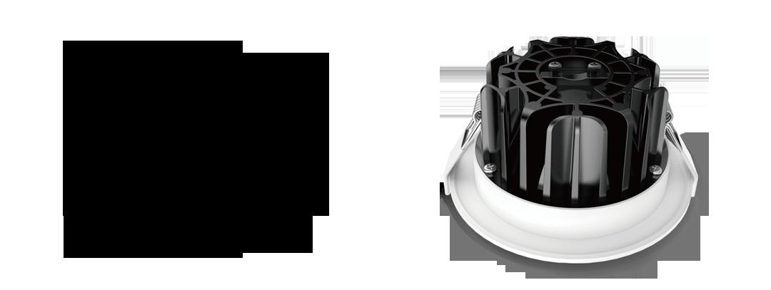 Genoa LED Aluminium Heat Sink