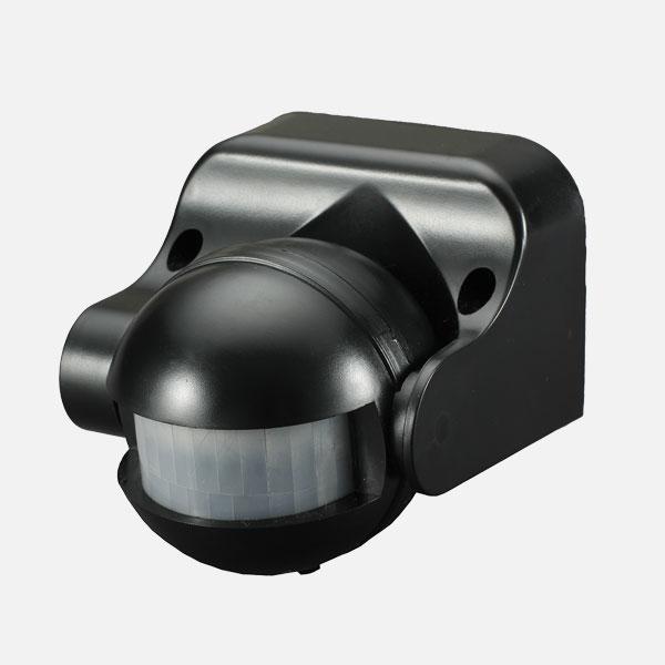 PXPR06B Prelux LED IP44 PIR Sensor 06 Black