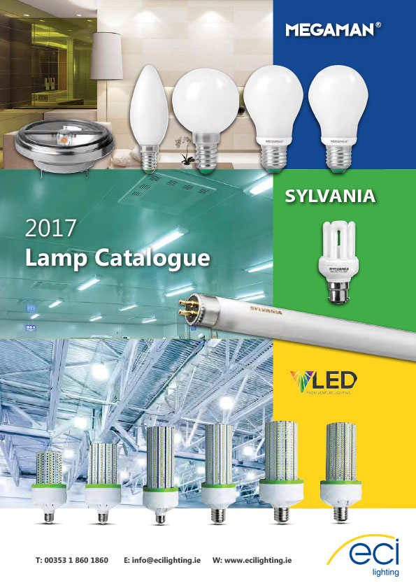 2017 ECI Lighting Lamps Catalogue - Including the Megaman Range