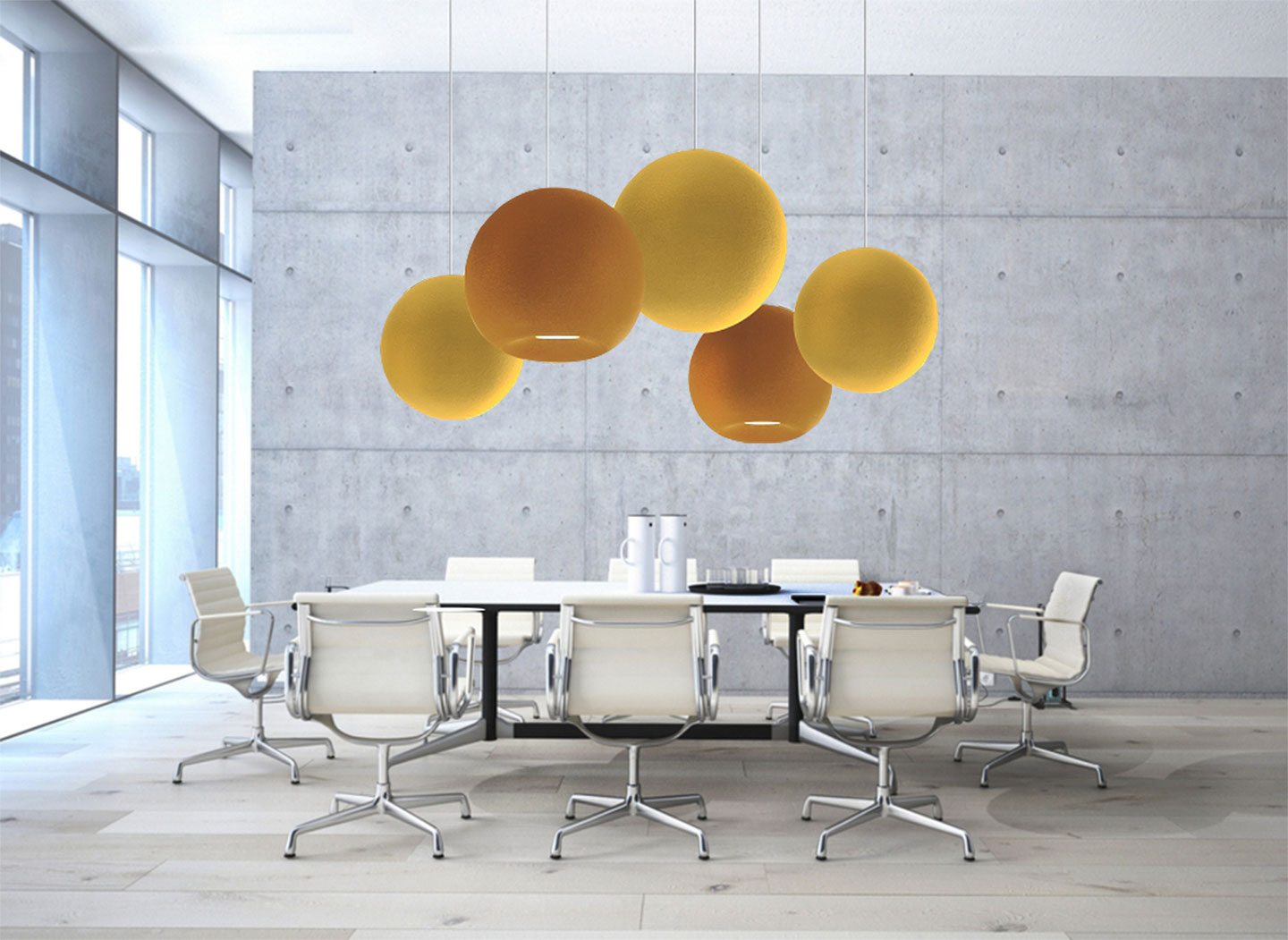 Orbit Lighting Globe Acoustic Luminaire