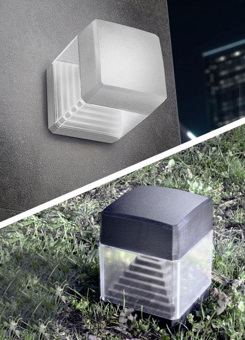 Fumagalli Ester Ground Spike & Wall Light