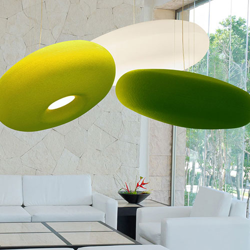 Orbit Lighting - Donut Acoustic Luminaires