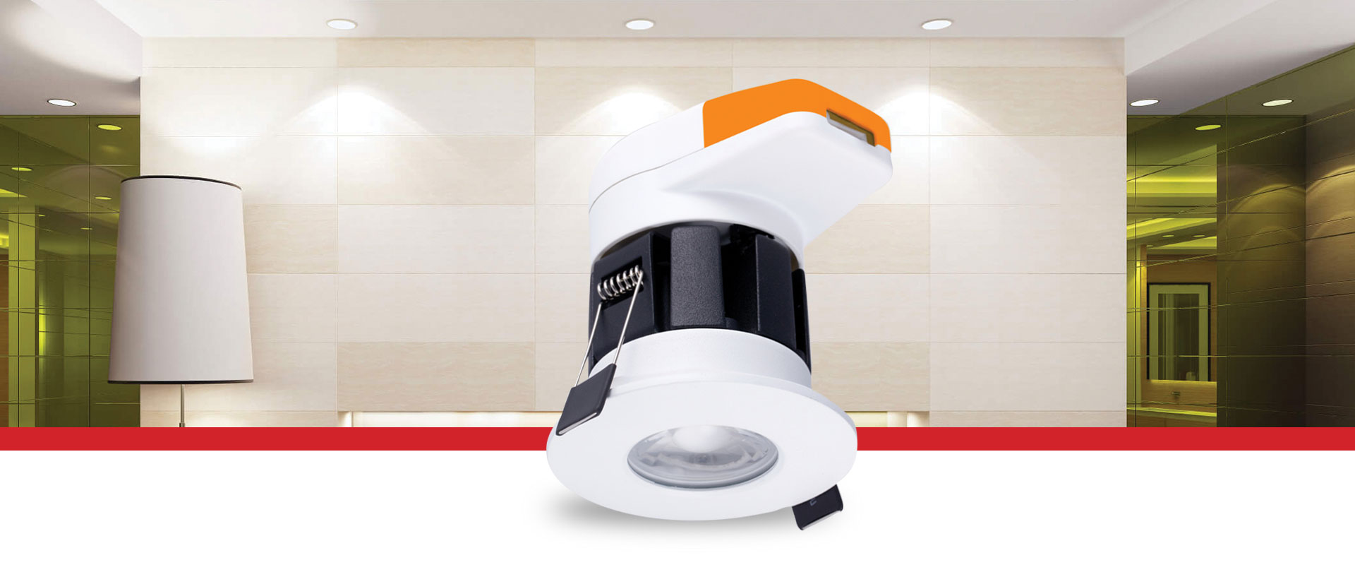 Shield Fire-Rated CCT Changeable Downlight