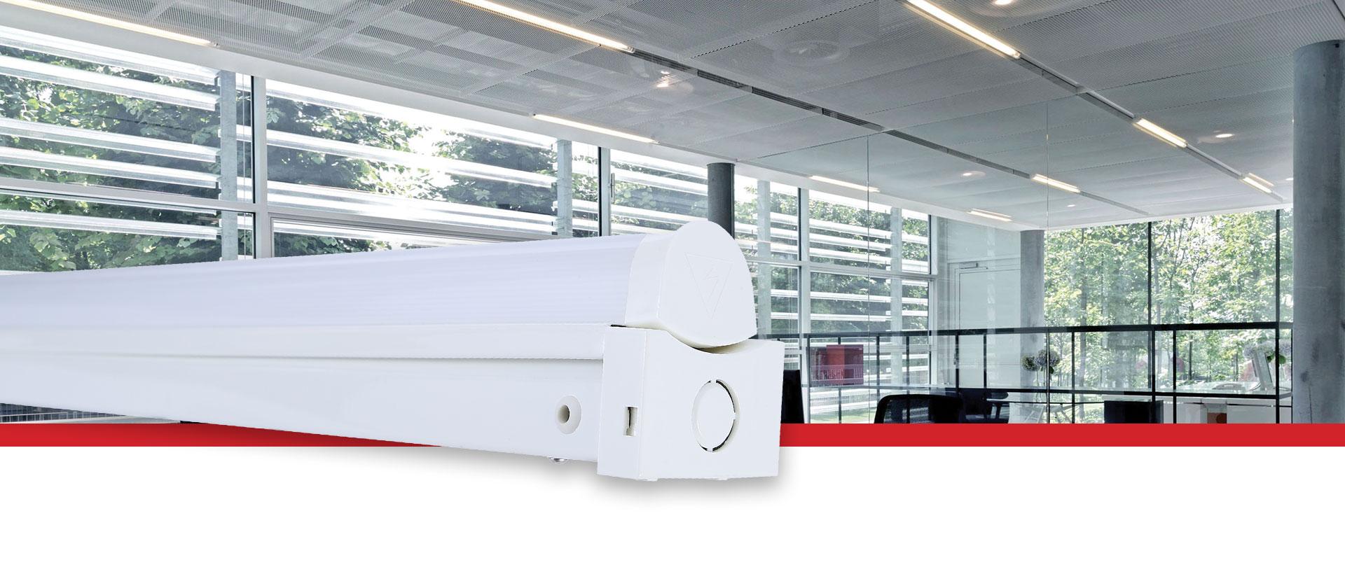 Prelux Lineout Standard / Emergency LED Batten