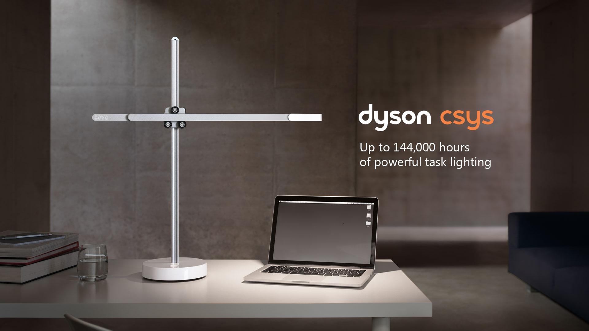 Dyson Lighting CSYS Desk Lamp
