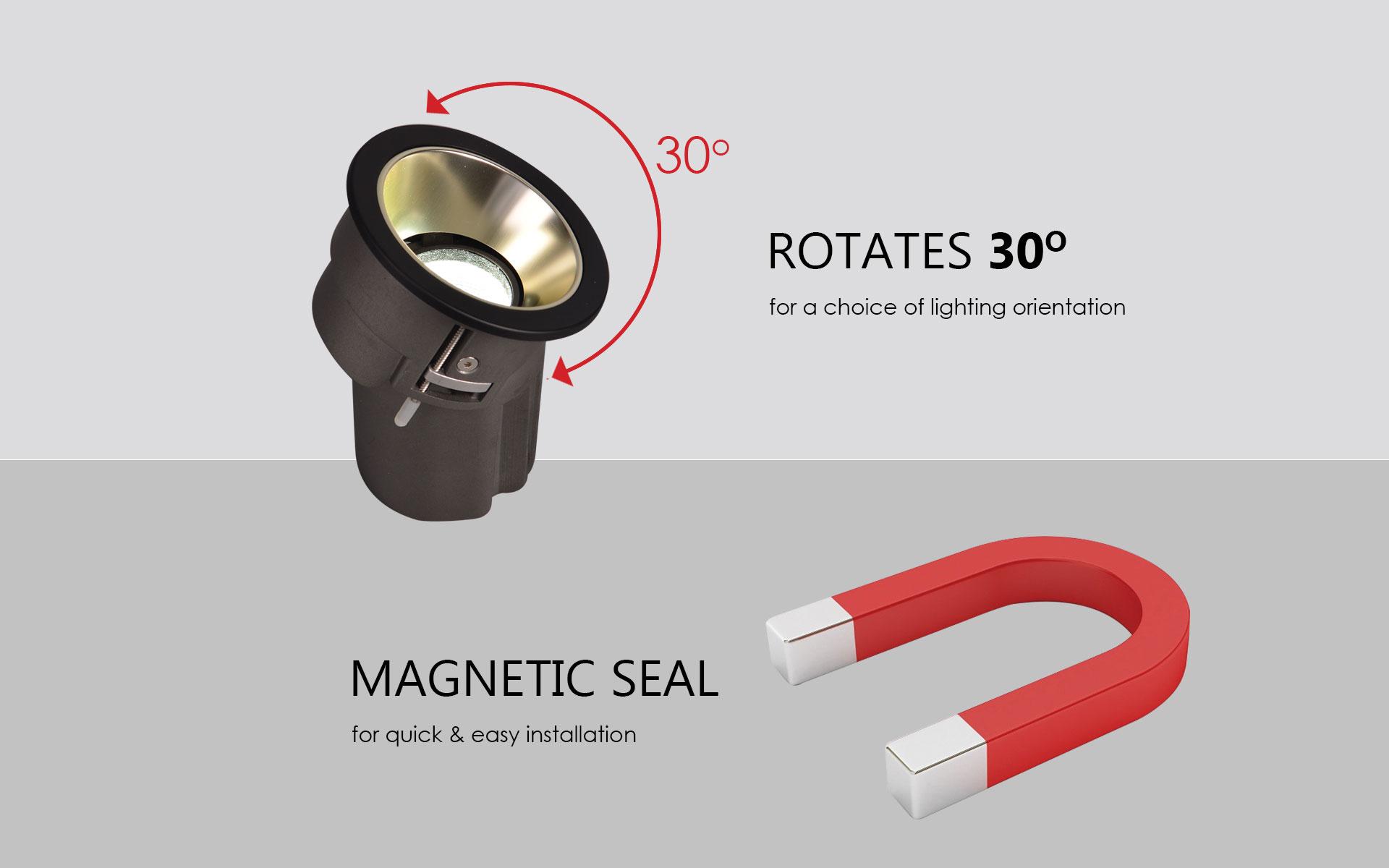 Prelux Bari LED Downlight Features