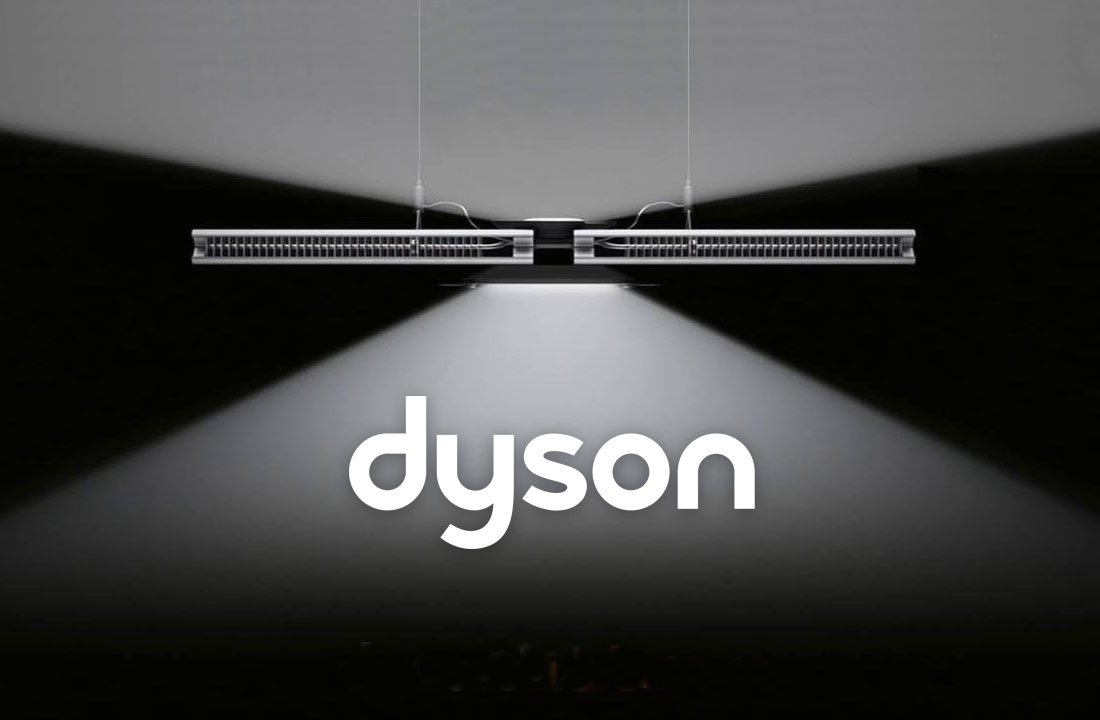 ECI Lighting are sole distributors of Dyson Lighting in Ireland